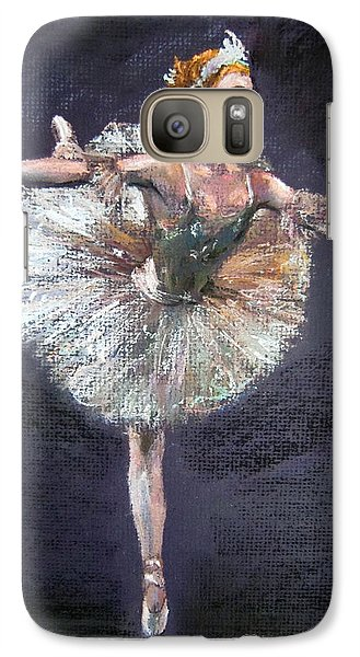 Galaxy Case featuring the painting Ballet by Jieming Wang