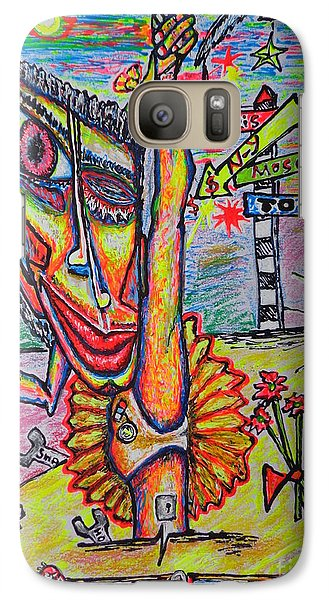 Galaxy Case featuring the painting Ballet/sketch/ by Viktor Lazarev