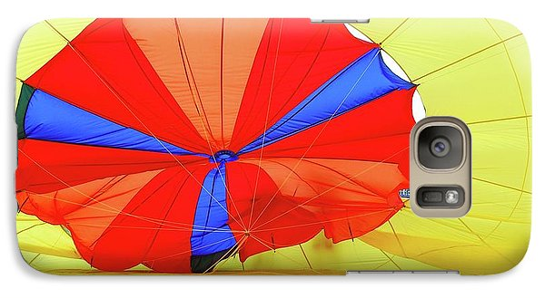 Galaxy Case featuring the photograph Balloon Fantasy   1 by Allen Beatty