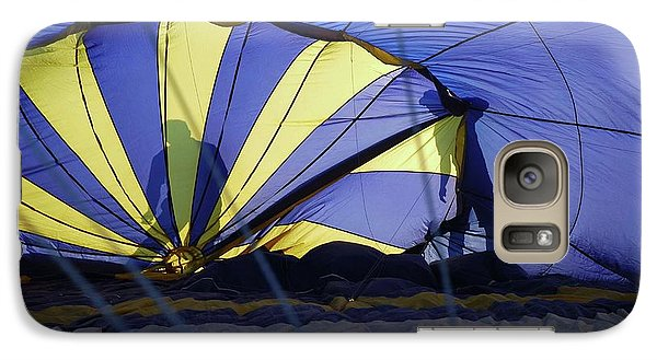 Galaxy Case featuring the photograph Balloon Fantasy 4 by Allen Beatty