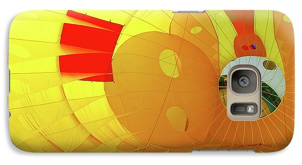 Galaxy Case featuring the photograph Balloon Fantasy 6 by Allen Beatty