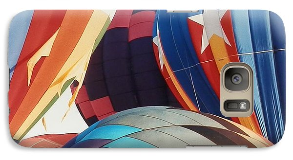 Galaxy Case featuring the photograph Miami Balloon Fesitval by Belinda Lee