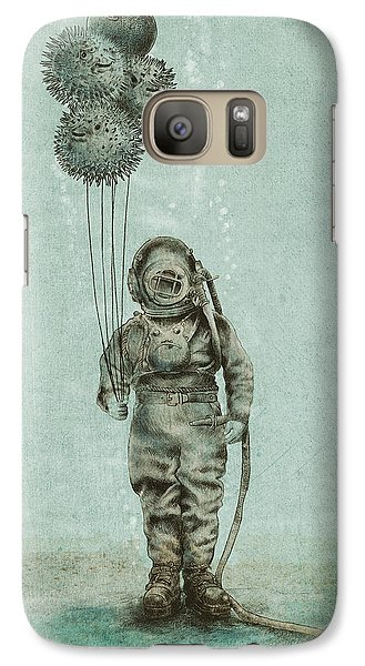 Balloon Fish Galaxy S7 Case by Eric Fan