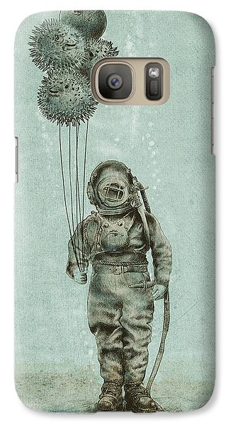 Animals Galaxy S7 Case - Balloon Fish by Eric Fan