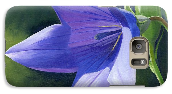 Galaxy Case featuring the painting Balloon Flower by Alecia Underhill