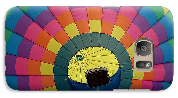 Galaxy Case featuring the photograph Balloon Lift-off  by Patrick Shupert