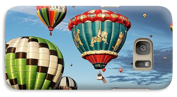 Galaxy Case featuring the photograph Balloons Away by Dave Files
