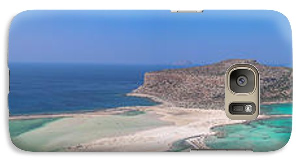 Galaxy Case featuring the photograph Ballos Bay by Sergey Simanovsky