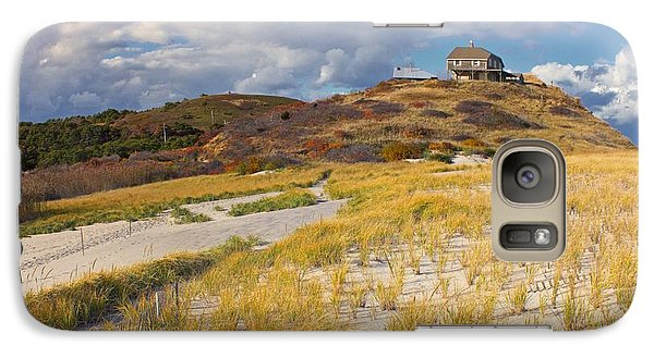 Galaxy Case featuring the photograph Ballston Beach Dunes by Constantine Gregory