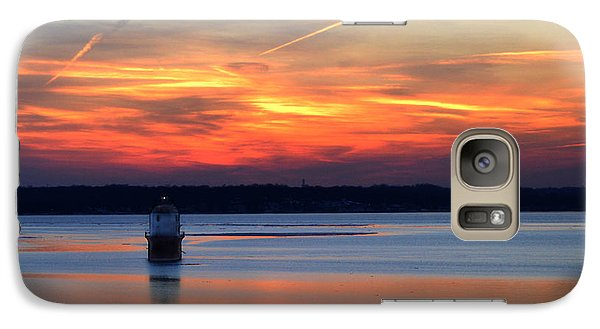 Baltimore Light At Gibson Island Galaxy S7 Case
