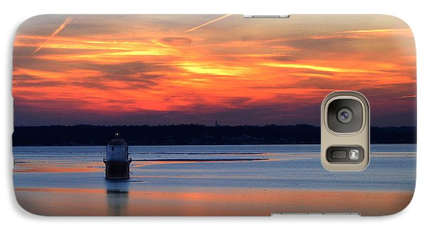 Galaxy Case featuring the photograph Baltimore Light At Gibson Island by Bill Swartwout
