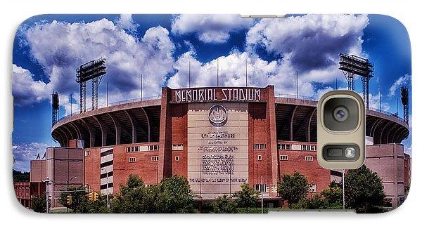 Oriole Galaxy S7 Case - Baltimore Memorial Stadium 1960s by Mountain Dreams