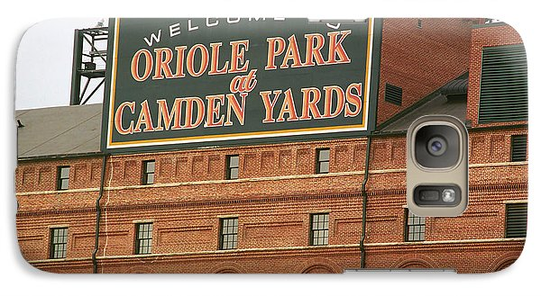 Baltimore Orioles Park At Camden Yards Galaxy S7 Case by Frank Romeo