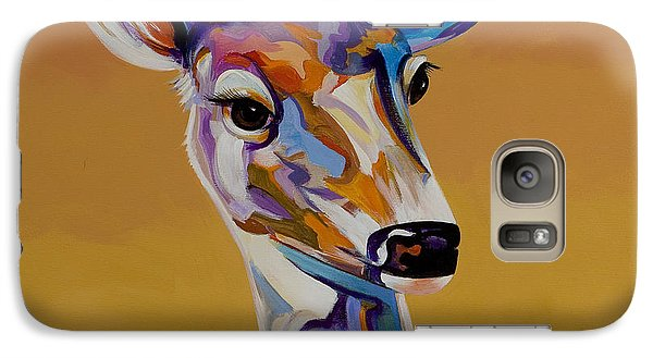 Galaxy Case featuring the painting Bambi by Bob Coonts