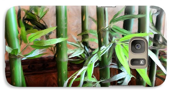 Galaxy Case featuring the photograph Plant -  Bamboo  -  Luther Fine Art by Luther Fine Art