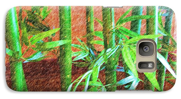Galaxy Case featuring the photograph Bamboo #1 by Luther Fine Art