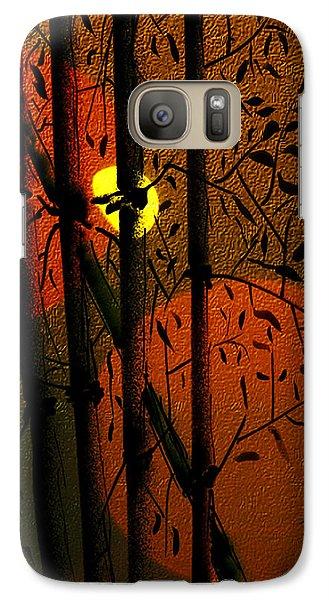 Galaxy Case featuring the digital art Bamboo 2 by Dale Stillman