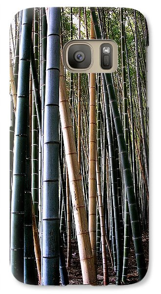 Galaxy Case featuring the photograph Bamboo In Sagano Japan by Jacqueline M Lewis
