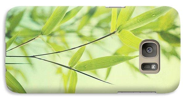 Bamboo In The Sun Galaxy S7 Case by Priska Wettstein