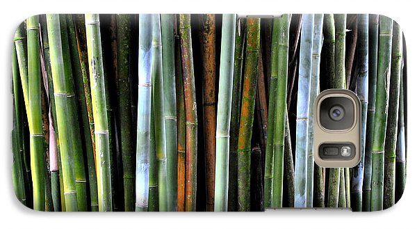Galaxy Case featuring the photograph Bamboo Rainbow by Jodi Terracina