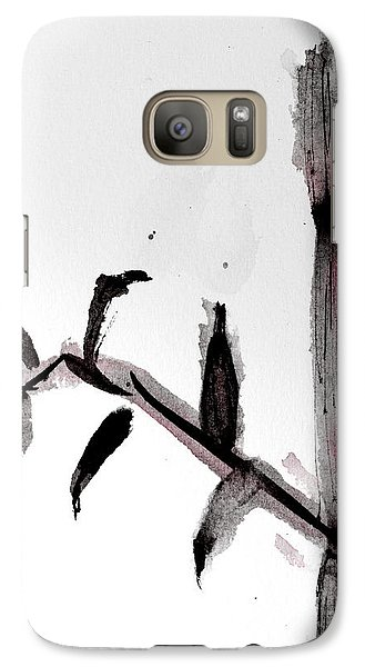 Galaxy Case featuring the painting Bamboo by Shelley Bain