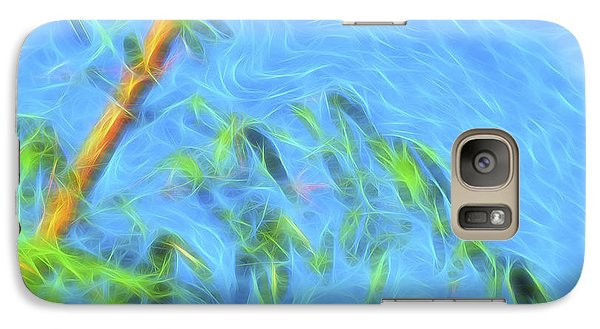 Galaxy Case featuring the digital art Bamboo Wind 1 by William Horden