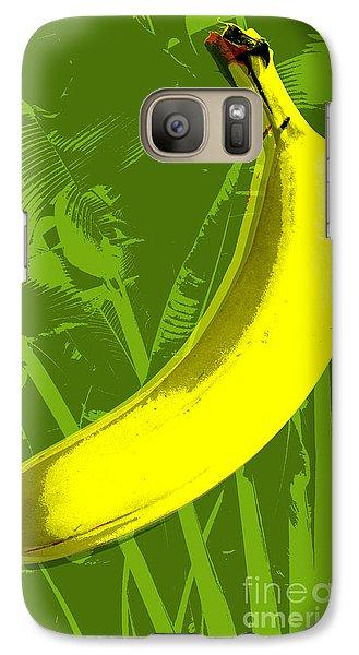 Banana Pop Art Galaxy S7 Case
