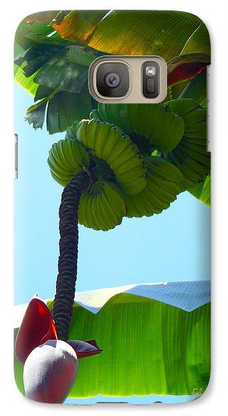 Banana Stalk Galaxy Case by Carey Chen