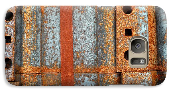 Galaxy Case featuring the photograph Banded Steel by Robert Riordan
