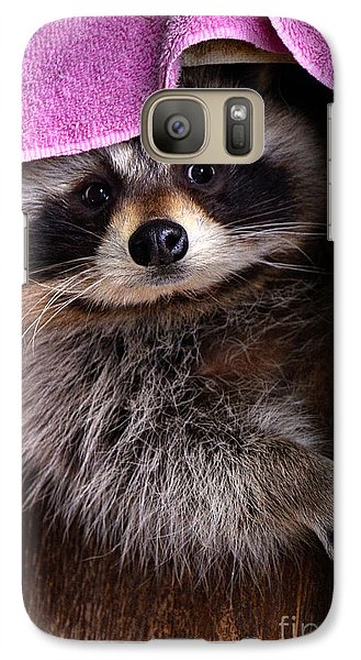 Galaxy Case featuring the photograph Bandit by Adam Olsen