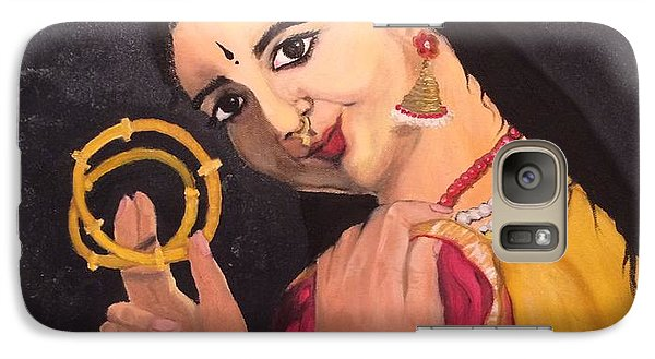 Galaxy Case featuring the painting Bangles by Brindha Naveen