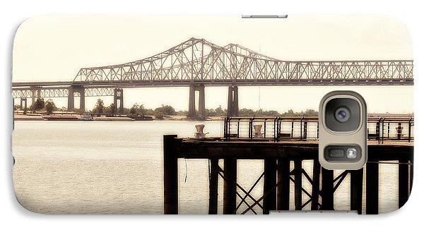 Galaxy Case featuring the photograph Bank The Bridge by Davina Washington