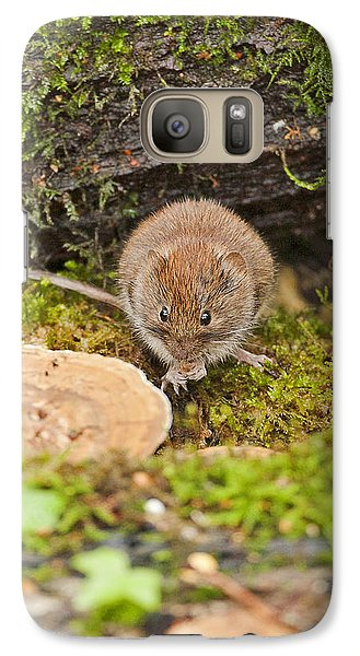 Galaxy Case featuring the photograph Bank Vole by Paul Scoullar