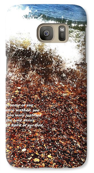 Galaxy Case featuring the photograph Baptism 2 by Saribelle Rodriguez