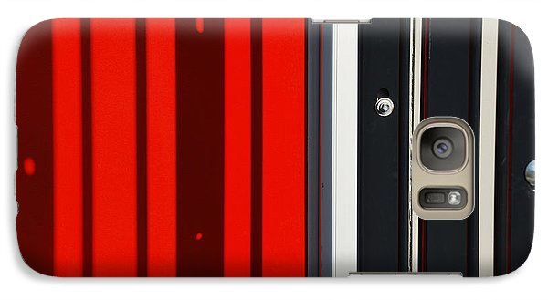 Galaxy Case featuring the photograph Bar Code by Wendy Wilton