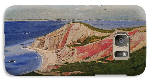 Galaxy Case featuring the painting Bar Harbor by Hilda and Jose Garrancho