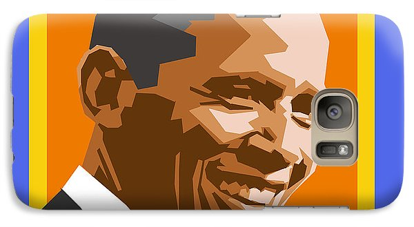 Barack Galaxy Case by Douglas Simonson
