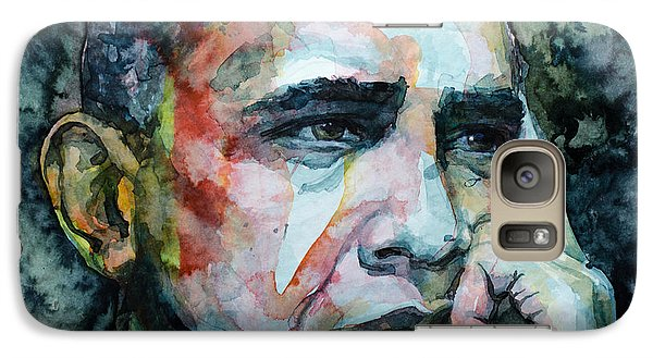 Galaxy Case featuring the painting Barack by Laur Iduc