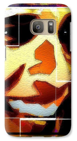 Galaxy Case featuring the digital art Barack Obama by Daniel Janda