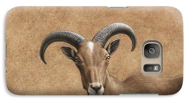 Goat Galaxy S7 Case - Barbary Ram by James W Johnson