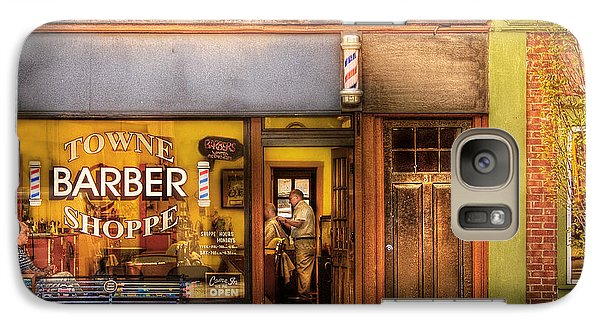 Barber - Towne Barber Shop Galaxy S7 Case
