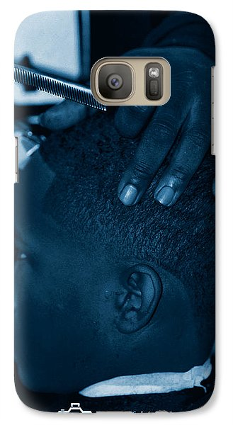 Galaxy Case featuring the photograph Barbershop  Art by Jerome Lynch
