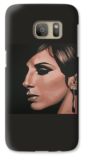 Barbra Streisand Galaxy S7 Case by Paul Meijering