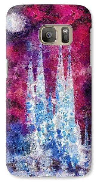 Mo Galaxy S7 Case - Barcelona Night by Mo T