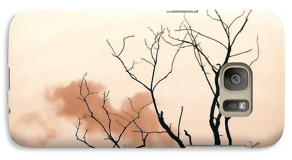 Galaxy Case featuring the photograph Bare Limbs by Denise Romano