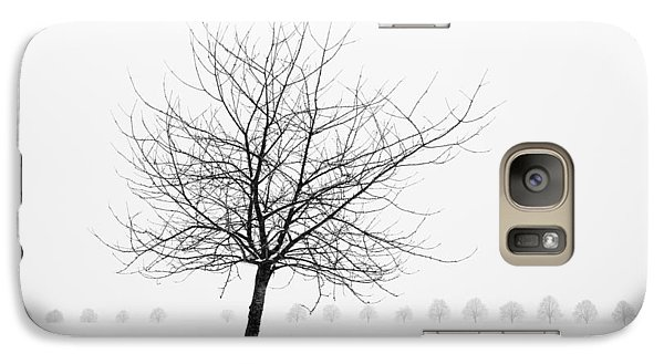 Bare Tree In Winter - Wonderful Black And White Snow Scenery Galaxy S7 Case