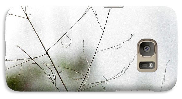 Galaxy Case featuring the photograph Barest Branches by Kimberly Mackowski