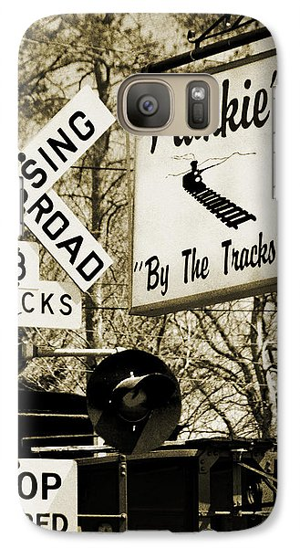 Galaxy Case featuring the photograph Barhopping At Frankies 2 by Lee Craig