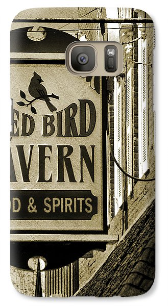 Galaxy Case featuring the photograph Barhopping At The Red Bird 2 by Lee Craig