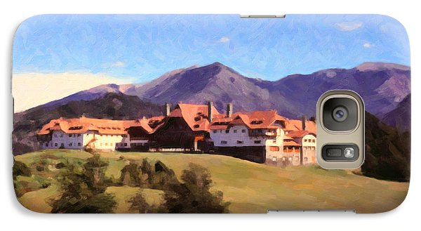 Galaxy Case featuring the painting Bariloche Argentina 1956 by Spyder Webb